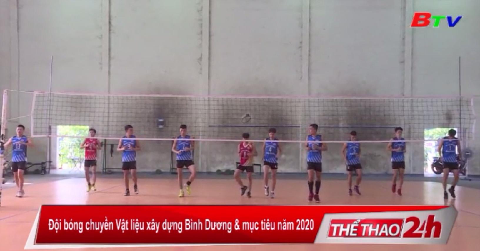 Đội bóng chuyền Vật liệu xây dựng Bình Dương và mục tiêu năm 2020