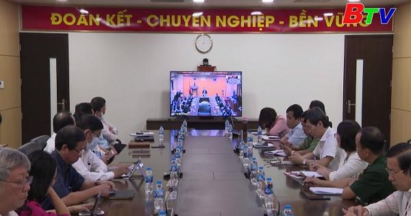 Bộ y tế tổ chức Hội nghị trực tuyến phòng chống dịch