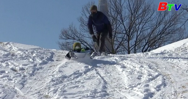 Hàn Quốc - Trượt tuyết gần nhà khi không thể đến các khu du lịch trượt tuyết