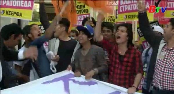 Hàng ngàn người Đức biểu tình phản đối tổng thống Thổ Nhĩ Kỳ