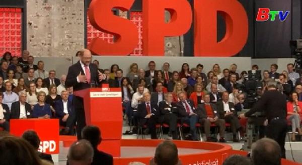 Ông Martin Schulz đại diện cho đảng SPD tranh cử Thủ tướng