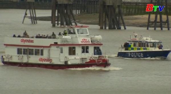 Cảnh sát London diễn tập chống khủng bố