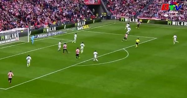 Vòng 28 La Liga- Athletic Bilbao 1-2 Real Madrid