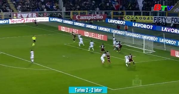 Vòng 29 Serie A - Torino 2-2 Inter