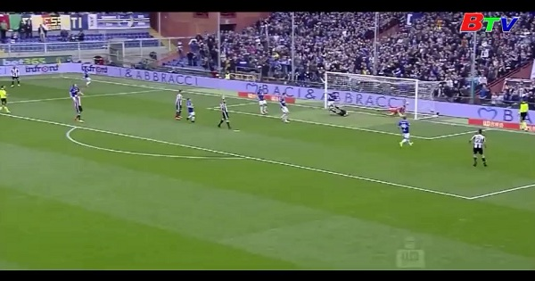 Vòng 29 Serie A - Sampdoria 0-1 Juventus