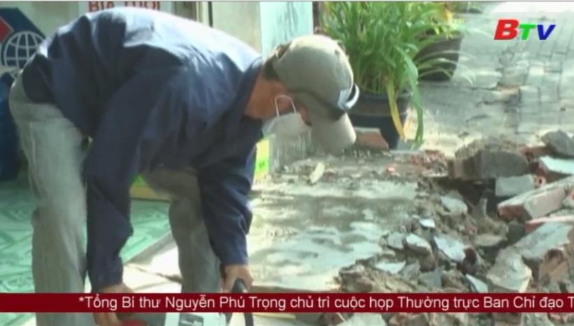 Thành phố Thủ Dầu Một ra quân lập lại trật tự đô thị