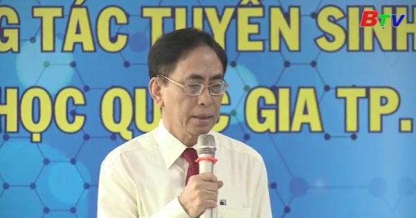 Đại học Quốc gia Tp.Hồ Chí Minh công bố phương thức thi đánh giá năng lực