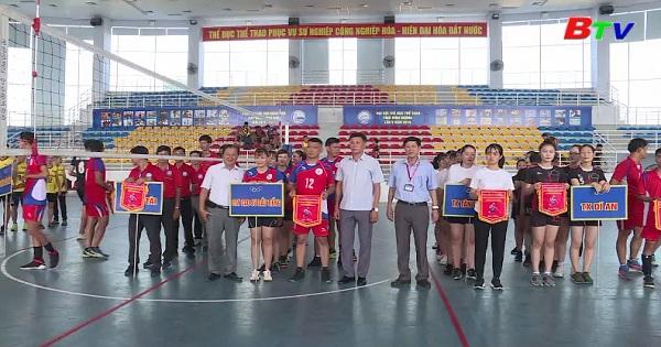 Khai mạc Giải bóng chuyền tỉnh Bình Dương năm 2019