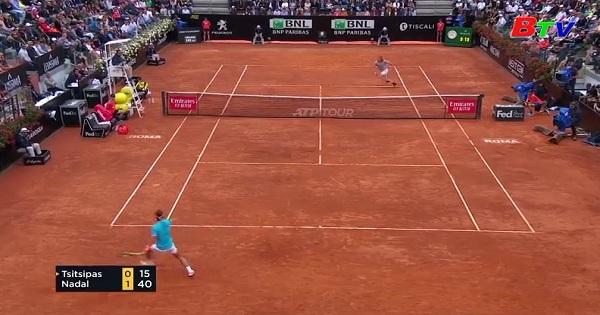 Rafael Nadal đối đầu Novak  Djokovic ở chung kết Italia mở rộng 2019
