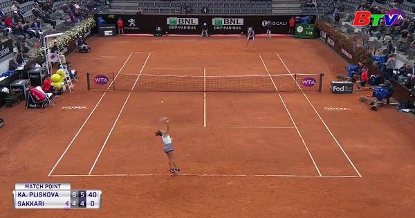Karolina Pliskova có lần đầu vào chung kết Italia mở rộng