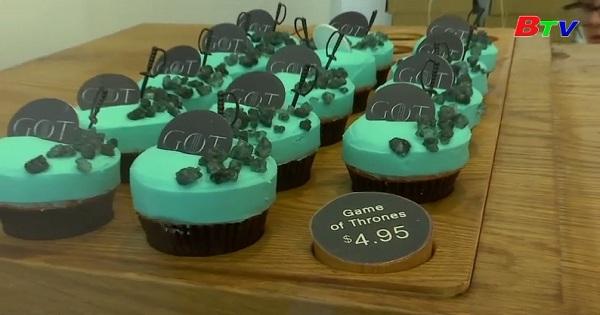 Độc đáo những chiếc bánh ngọt mô phỏng theo bộ phim