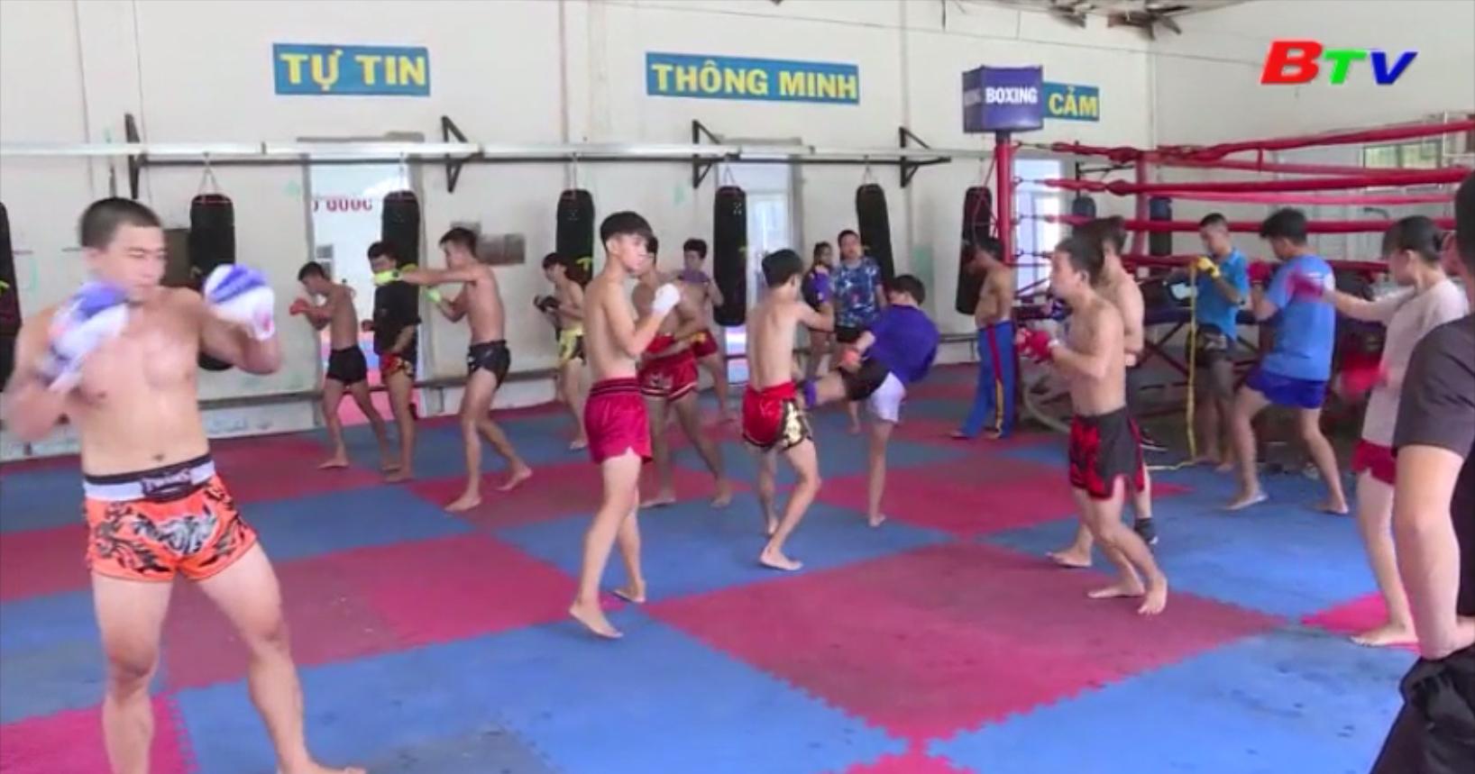 Bình Dương chuẩn bị các giải đấu võ thuật toàn quốc