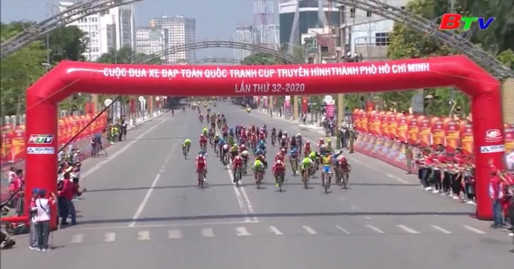 Khởi tranh Cuộc đua xe đạp tranh cúp Truyền hình TP.HCM lần thứ 32 năm 2020