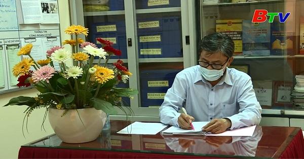 Một chủ tịch công đoàn nhiệt huyết trong nhà trường