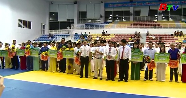 Khai mạc Giải vô địch Judo toàn quốc năm 2017
