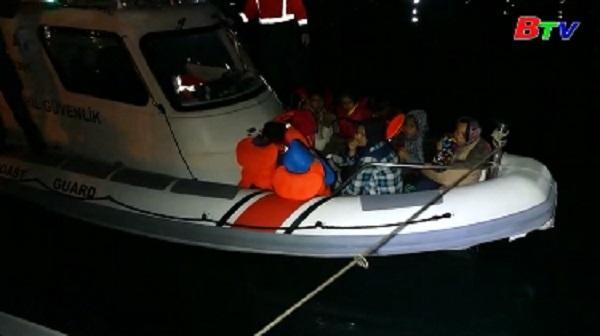 Thổ Nhĩ Kỳ chặn 330 người di cư tới Hy Lạp
