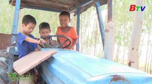 San Sẻ Yêu Thương - Hoàn cảnh anh Nguyễn Văn Quẹo (ấp Tha La, xã Định Thành, huyện Dầu Tiếng, Bình Dương)