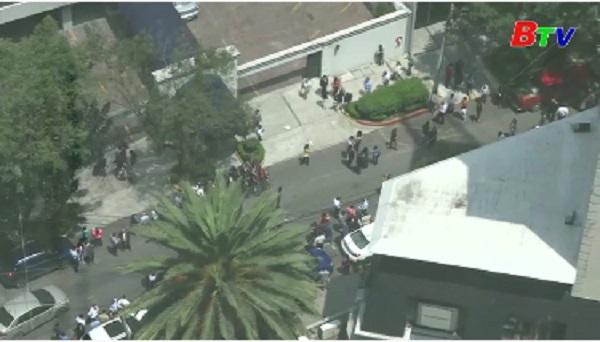 Lại xảy ra động đất mạnh tại Mexico
