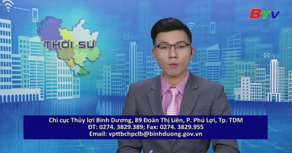 Thông báo tình hình triều cường vùng hạ lưu trên sông Sài Gòn