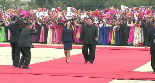 Tổng thống Hàn Quốc đến Triều Tiên