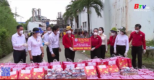 Trao 2.200 quà Trung thu các khu cách ly, bệnh viện dã chiến