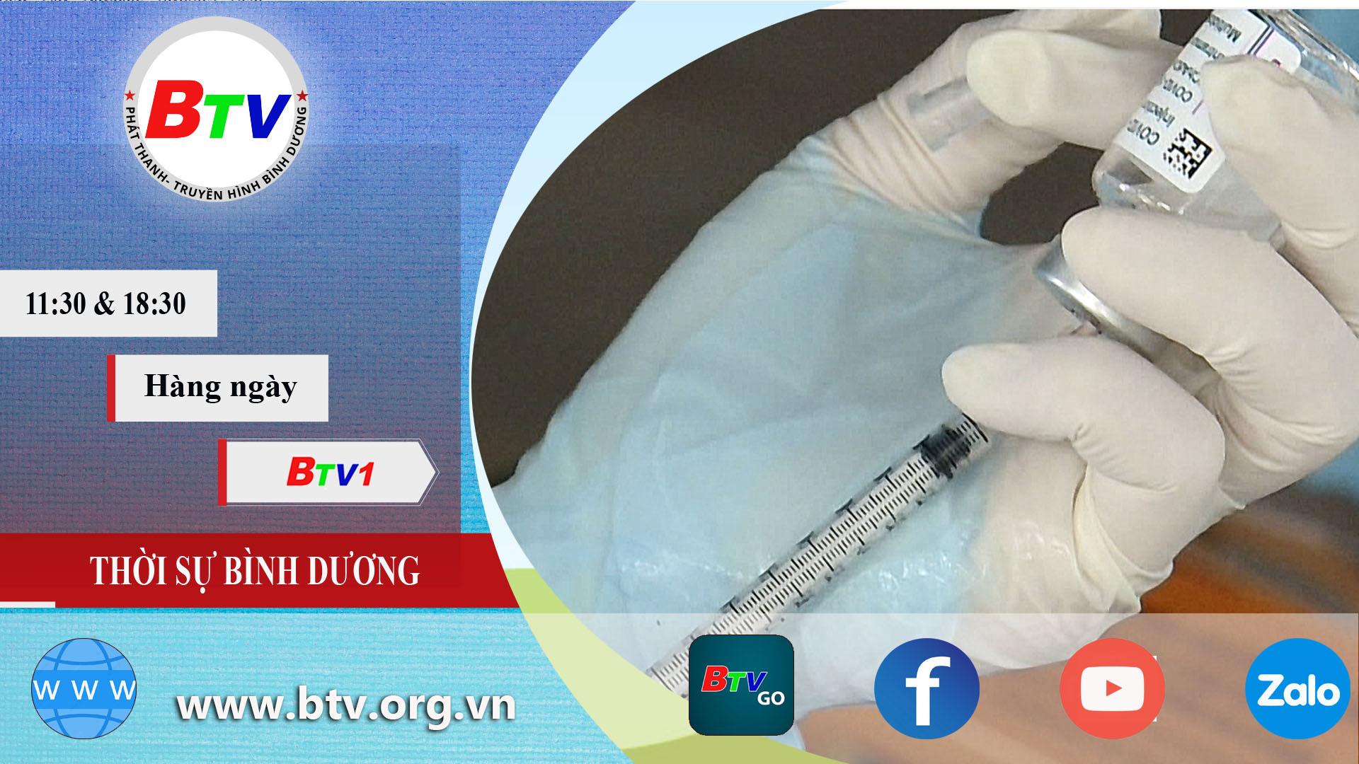 Thị xã Tân Uyên đẩy nhanh tiến độ tiêm vắc xin mũi 2