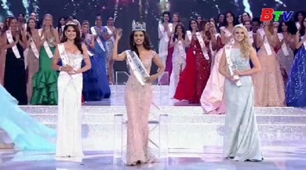 Người đẹp Ấn Độ đăng quang Hoa hậu Thế giới 2017