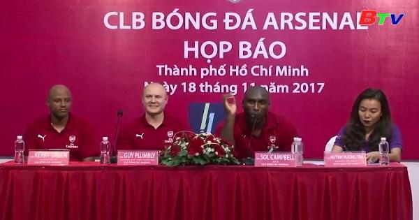 Hoạt động của CLB Arsenal & Soll Campell tại Việt Nam