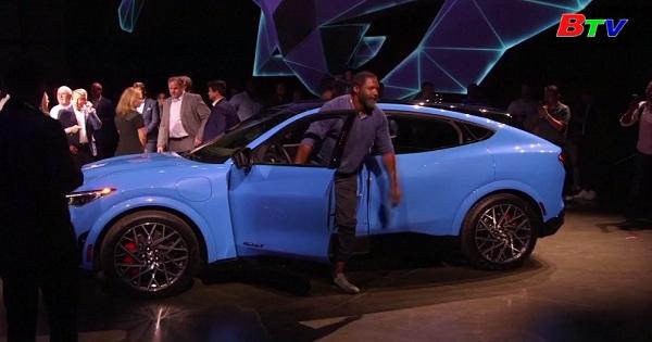 Hãng Ford cho ra mắt mẫu xe điện Mustang Mach - E
