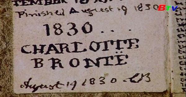 Đấu giá bản thảo tí hon của nhà văn Chralotte Bronte