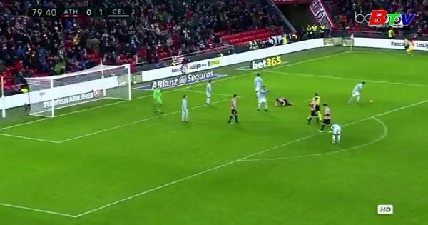 Vòng 16 La Liga: Athletic Bilbao 2-1 Celta Vigo