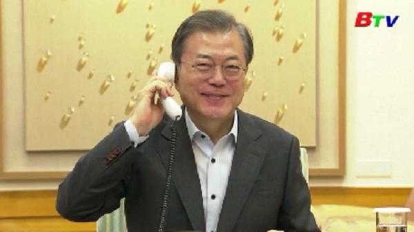 Hàn Quốc xác nhận cuộc gặp thượng đỉnh Hàn - Trung vào tuần tới