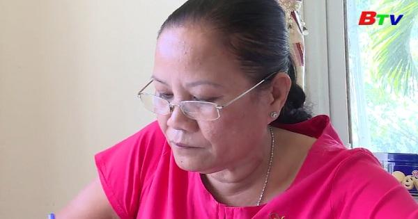 Một nữ cán bộ hội tiêu biểu học và làm theo Bác