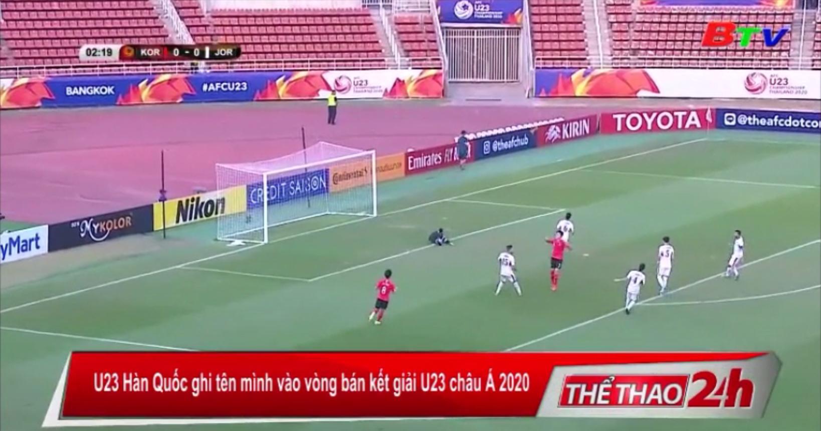U23 Hàn Quốc ghi tên mình vào vòng bán kết giải U23 châu Á 2020
