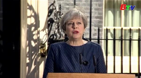 Thủ tướng Anh kêu gọi tổng tuyển cử trước thời hạn