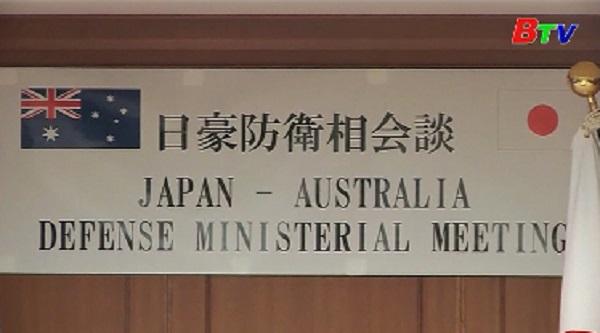 Nhật Bản và Australia tăng cường hợp tác quốc phòng