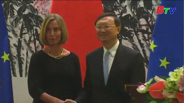 Trung Quốc, EU đối thoại chiến lược tại Bắc Kinh