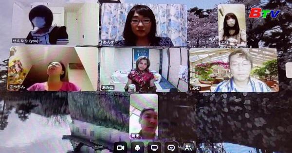 Nhật Bản - Tiệc trà trực tuyến trở thành trào lưu mới