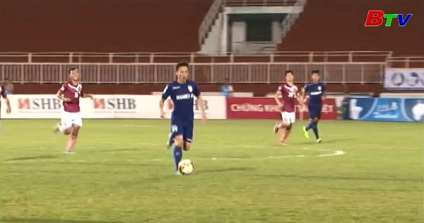 Tứ kết lượt cúp quốc gia 2017 trước trận Becamex Bình Dương - Sài Gòn