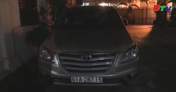 Tìm thấy xe Innova bị mất cắp ở Campuchia