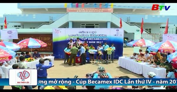 Nhật ký chặng 3 Giải Đua xe đạp THBD - Cúp Becamex IDC lần IV/2017