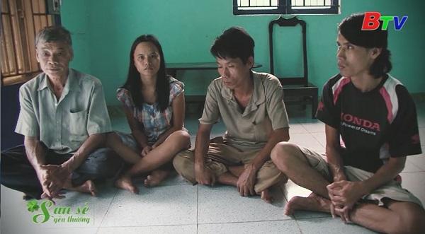 San Sẻ Yêu Thương - Hoàn cảnh bà Trần Thị Phi (khu phố 3, phường Chánh Phú Hòa, thị xã Bến Cát, tỉnh Bình Dương)