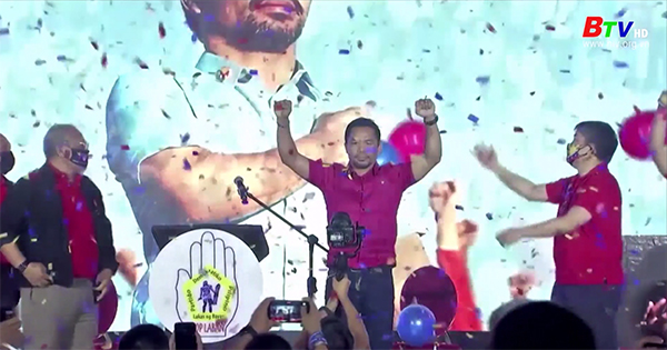 Huyền thoại quyền Anh Manny Pacquiao tranh cử Tổng thống Philippines