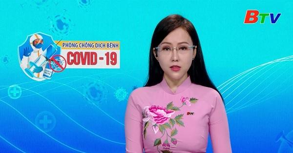 Tình hình dịch bệnh Covid-19 tại Bình Dương ngày 21/09/2021
