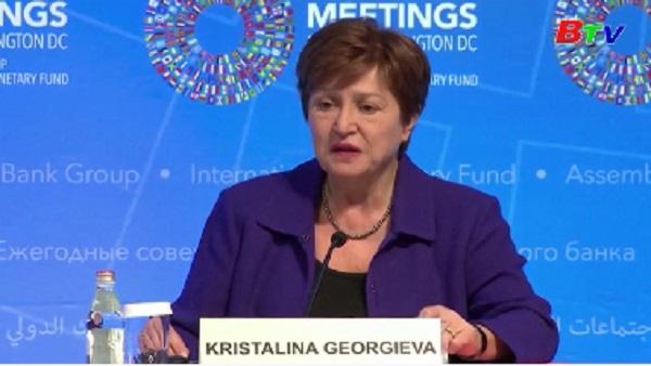 IMF cảnh báo triển vọng của kinh tế toàn cầu