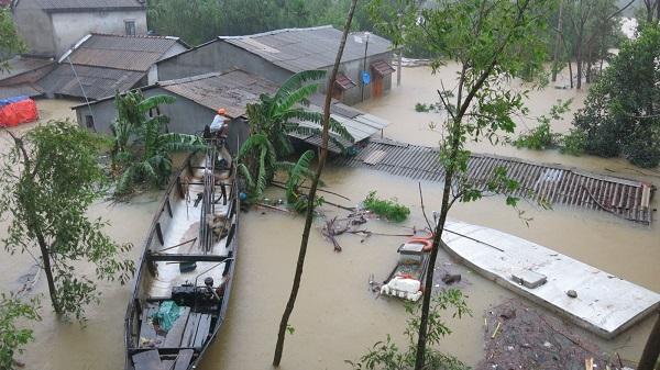 Đảm bảo an toàn tính mạng người dân trong mưa lũ