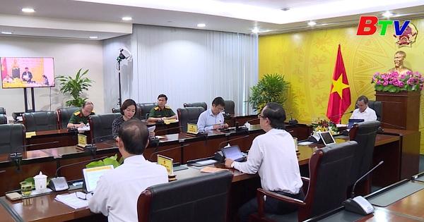 Đoàn đại biểu Quốc hội tỉnh Bình Dương tiếp tục dự trực tuyến kỳ họp thứ 10, Quốc hội Khóa XIV