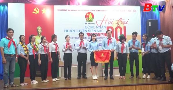 Bế mạc hội trại Người thanh niên mang khăn quàng đỏ  lần IV, năm học 2020 - 2021