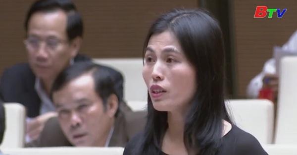 Quốc Hội thảo luận Dự án Luật Phòng, chống tham nhũng (sửa đổi)