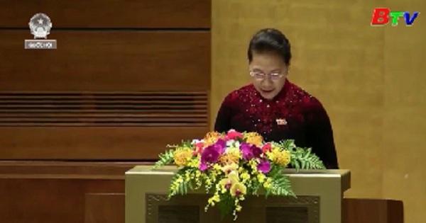 Phát biểu của Chủ tịch Quốc hội Nguyễn Thị Kim Ngân